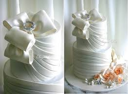 wedding bows wedding cakes with couture bows cake magazine