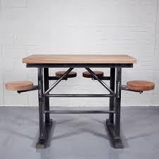 industrial bar table and stools homebarn industrial tall ship s bar table home barn vintage