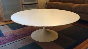 for classic saarinen knoll tulip tables and chair restoration c