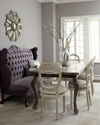 Dining Room Table With Sofa Seating Isabella Wing Banquette Banquettes Side Chair And Shabby