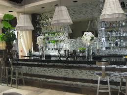 Lisa Vanderpump Home Decor Great Use Of Metallics And Mosaic At Sur Lounge West Hollywood