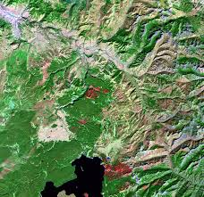 National Parks Usa Map by Yellowstone National Park Usa Earthshots Satellite Images Of