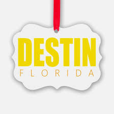 destin florida ornament cafepress