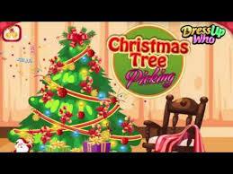 christmas tree picking decoration game merry christmas everyone