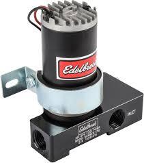 Jegs Auto Parts Edelbrock 1792 Quiet Flo Electric Fuel Pump 160 Gph In Black Jegs