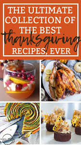 the ultimate collection of the best thanksgiving recipes