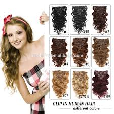 Indian Remy Human Hair Clip In Extensions by 150g Hair Extensions 150g Hair Extensions Suppliers And