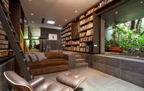 design library reading space interior design ideas