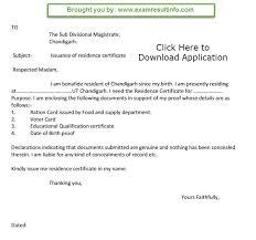Sle Of Barangay Certification Letter Certification Letter Of Residency Sle 28 Images Sle Letter To