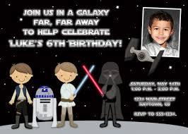 star wars personalized birthday invitations plumegiant com