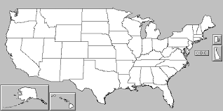 in a us map alaska and hawaii are displayed in areas called united states with alaska and hawaii free map free blank map
