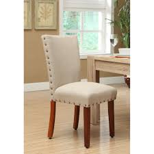 Upholstered Linen Dining Chairs Haggar Men U0027s Cool 18 Hidden Expandable Waist Plain Front Pant