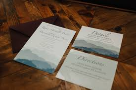 mountain wedding invitations mountain wedding invitations emily costopoulos