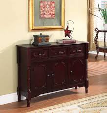 black credenza buffet small sideboard with wine rack antique white