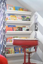 reading nook and lots of books balancing home with megan bray