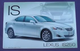 lexus car is 250 rare fujimi 1 24 scale lexus is250 model kit 03675 japan ebay