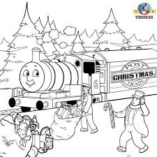 printable train coloring pages kids thomas steam engine