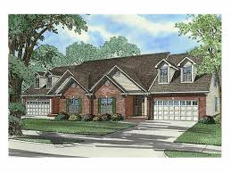 Multi Family Homes Floor Plans 225 Best Duplex U0026 Apartment Plans Images On Pinterest Duplex