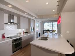 Contemporary Kitchen Wallpaper Ideas Kitchen Design Stunning Galley Kitchen Design Small Galley