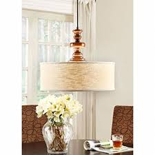 Dining Room Drum Light Farmhouse Chandelier For Dining Rooms Kitchens And Breakfast