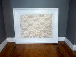hey look what i made diy lace bulletin board