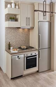 kitchen room double wall oven cabinet no space for fridge in