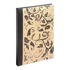 Slip In Photo Albums Aurora Floral Design 9x6