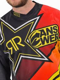 youth rockstar motocross gear answer rockstar motocross jersey moto mx mtb maillot football