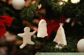 how to make baking soda dough ornaments 9 steps
