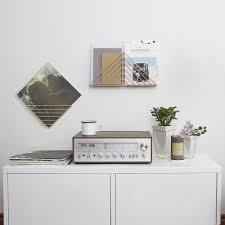 Brass Desk Accessories by Strum Wall Shelf Brass Accessories Accessory Storage Brass
