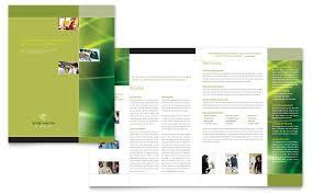 brochure templates for microsoft publisher free tri fold brochure