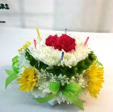 birthday flower cake same day delivery birthday flower cake green and yellow