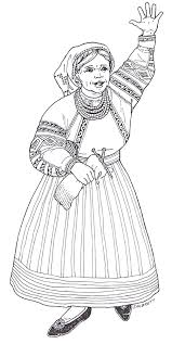 the mitten coloring page the mitten mural baba coloring page jpg