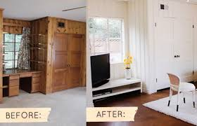how to paint wood paneling pics photos painted wood panelling before and after wood paneling