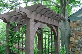 garden arbor with gate plans home outdoor decoration