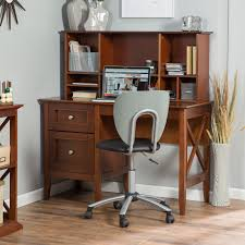 belham living hampton desk with optional hutch white oak hayneedle
