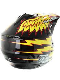 motocross helmet with visor troy lee designs black yellow 2016 se3 flight mx helmet troy lee