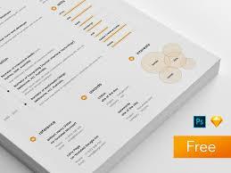 sample resume template get psd u0026 sketch resume templates