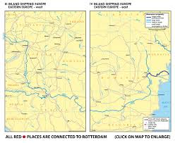 baia mare map www rotterdamtransport rhine inland shipping country maps
