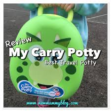 Best travel potty my carry potty potty training new mummy blog