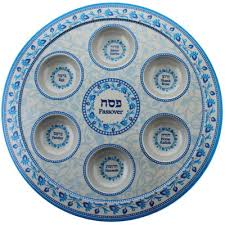 seder set israel book shop seder plates and sets