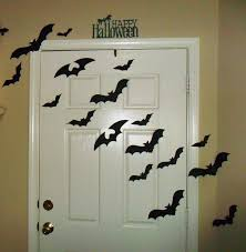 halloween decoration halloween door decorating kit with bats