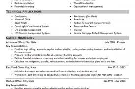 Sample Resume For Bookkeeper Accountant by Bookkeeper Resume Tips And Samples Resume Example Accounting