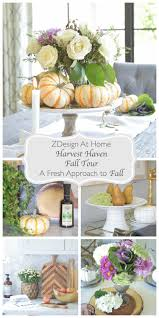 a fresh approach to fall zdesign at home harvest haven fall home tour
