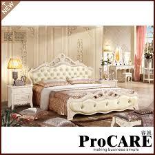 Discount King Bedroom Furniture 2016 New Antique Design Oak Solid Wood Bedroom Furniture King Size