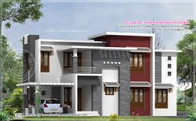 2540 square feet contemporary house design model houses