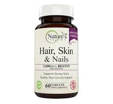 nature u0027s potent hair skin u0026 nails vitamins for hair growth