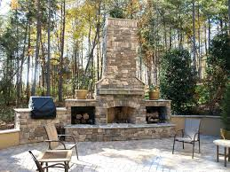 Outdoor Prefab Fireplace Kits by Outdoor Stone Fireplace Kits Price Colonial Kit Mirage Costco
