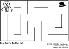printable spring butterfly maze a very easy maze to introduce