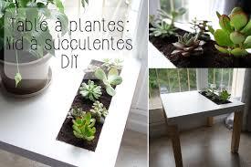 diy table à plantes ikea nid à succulentes youtube